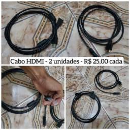 Título do anúncio: Cabo HDMI