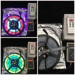 ®Fita De Led Digital 6803 Rgb C/ Controle