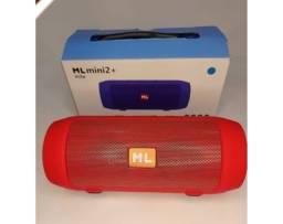 Caixinha De Som Charge ML Mini 2+ Bluetooth Vermelha