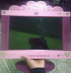Título do anúncio: Linda TV, Tvzinha Disney Princesas LCD, Entrega e Garantia