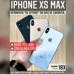 iPhone XS Max 64gb, aceitamos cartão em até 18x com acréscimo.