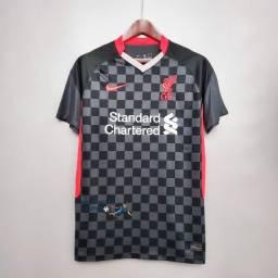 Camisa Liverpool III Third 20/21 Masculina