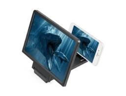 Tela ampliadora de celular 3d