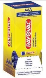 Título do anúncio: pilhas aaa rayovac