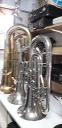 Oficina de instrumentos musicais de sopro