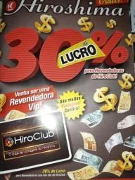 Cátalogo hiroshima mínimo R$100,00.