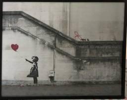 Quadro reproduçao Banksy