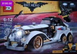 Carros Batman blocos de montar Similar ao lego