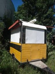 Vendo ou troco trailer pronto para trabalhar