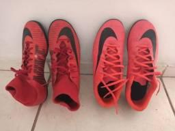 Chuteira campo Nike CR7 ( com trava )