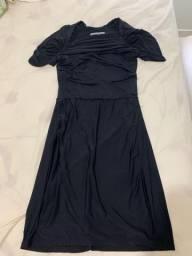 Vestido mabillis, tubinho preto, lindo, novinho,