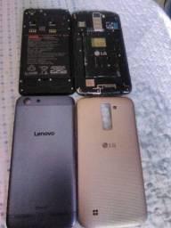 LG K10 2016 16GB com TV e Lenovo Q5 DOLBY 16GB