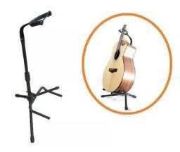 Suporte de Chão p/ Violão, Guitarra, Baixo