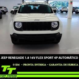 Jeep Renegade 1.8 16v Flex Sport 4p Automático  2021 0km