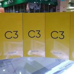 Promoção realme c3 64gb!!! Lacrado na cor cinza