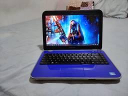 Título do anúncio: Notebook Dell core i7 3 geração HD SSD 128 RAM 8GB placar de vende dedicada NVIDIA