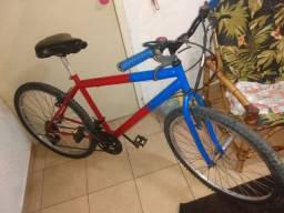 Título do anúncio: Vendo bicicleta aro 26 toda revisada só andar dependendo do lugar eu levo só chamar