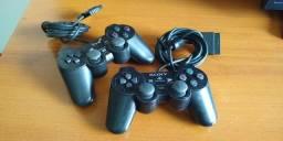 Título do anúncio: Vendo 02 controles para PS2