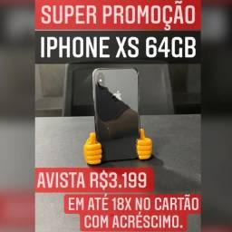 IPHONE XS 64GB PRETO C/ GARANTIA