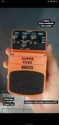 Título do anúncio: Vendo esse pedal da marca Behringer sf300 super fuzz