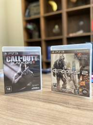 Jogo Call Of Duty Black Ops II + Crysis 2 PS3 - Usado