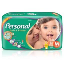 Fralda Personal Descartável, Jumbo - Pacote.