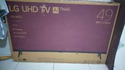 TV tela quebrada vendo