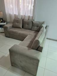 Título do anúncio: Sofa de canto 2 X 2 metros novo sem detalhes