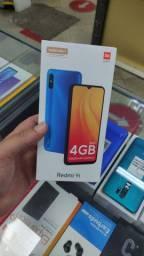 Smartphone 64 Gigas ! Original ! Xiaomi Redmi 9 i ! Preto e verde ! Imediato