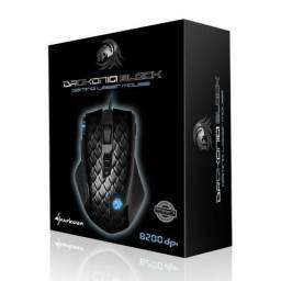 Mouse Sharkoon Gamer Drakonia Black 8200 Dpi 11 Botões Avago