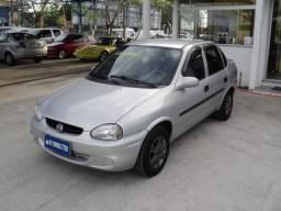 Gm - Corsa Sedan 1.6 Com GNV + Ar condicionado entrada apartir de R$ 990,00 + 48x fixas - 2005