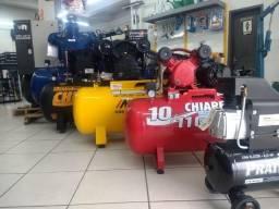 Promoção de compressores de ar pistão e parafuso Casa do Frentista