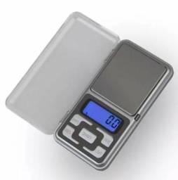 Balança de precisão digital de bolso pesa de 0,1g até 500g