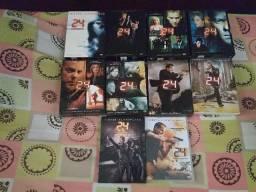 Coleção Completa 24 Horas (1a a 9a temporadas + DVD filme 24 Horas - Redenção)