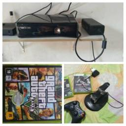 Xbox 360 -versao black piano e konect