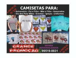 Camisetas Personalizadas - Grande Promoção