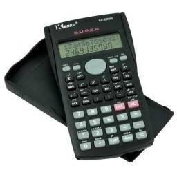 Calculadora Científica Kenko 82ms Capa Protetora 240 Funções Curso Técnico