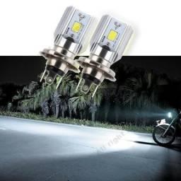 Lâmpada Led branca H4 nova moto comprar usado  Maranguape