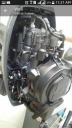 Lancha Alumínio +Motor de Popa top - 2012