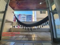 Oportunidade de 460 por 380 mil- Apartamento 134m 5 quartos prédio de frente praia Jatíuca