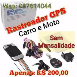 Rastreador gps p/ carros e motos