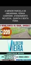 Parcelas de 209,40 terreno em Umuarama
