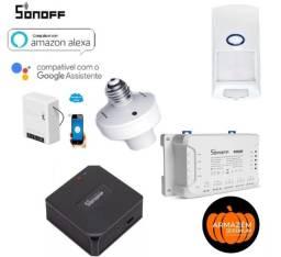 Sonoff linha de produtos originais Mini, Dw1, Pir2, Ponte, Pro 4 ch, Slampher