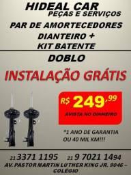 Amortecedores dianteiro do Doblo instalação grátis com kit parcial