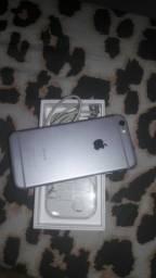 Iphone 6s 128gb novo cinza espacial