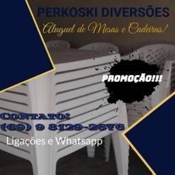 Promoção relâmpago!!! mesas e cadeiras