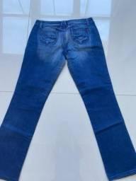 Calça jeans ZAPPING tamanho 40 com stretch