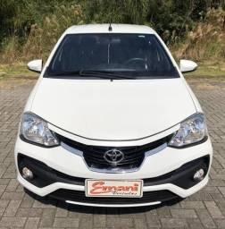 Impecável Etios Platinum Automático - 2018