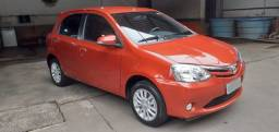 Etios hatch XLS 2016 (34mil Km)