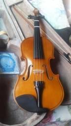 Vendo Violino 4/4 Dominante Completo
